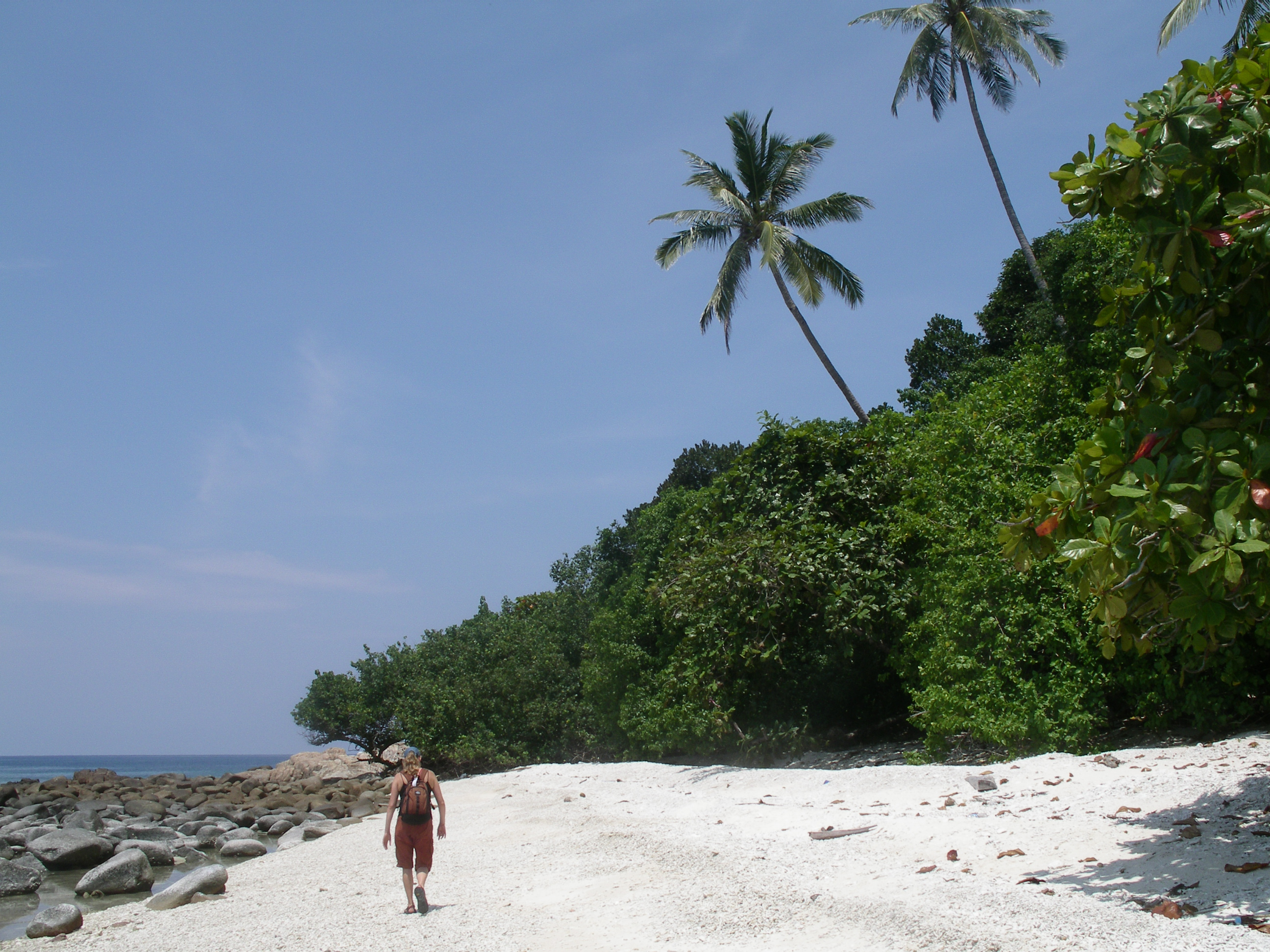 Travels in Malaysia The Picturesque Beach on Pulau Perhentian Kecil